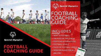 Football Coaching Guide cover and internal page