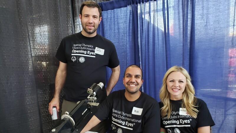 Opening Eyes healthy athletes health volunteers