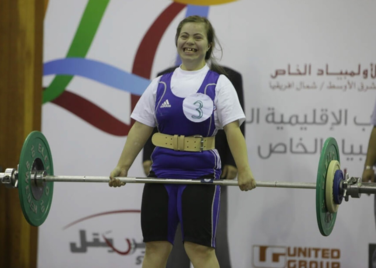 Special Olympics Power Lifting