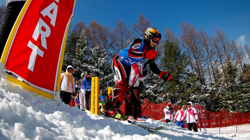 Alpine Skiing Lead