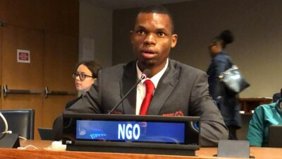 Nyasha Derera at the United Nations