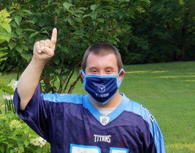 Matt mask titans