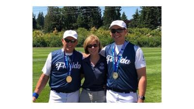 Brevard Banditz win Special Olympics softball gold and Honor Retiring Coaches.jpg