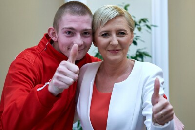 Meeting with the First Lady Agata Kornhauser-Duda