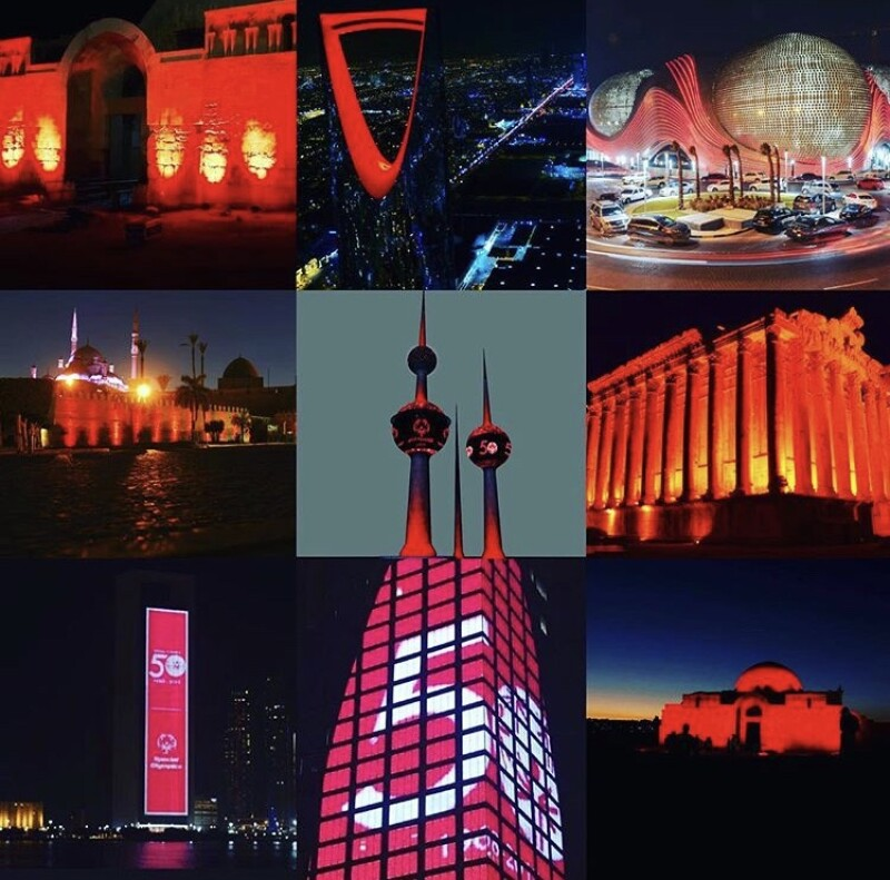 Light Up Red