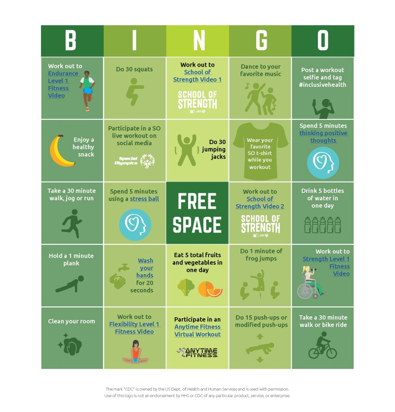 Image of bingo card.