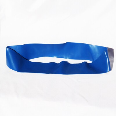 Blue resistance band.