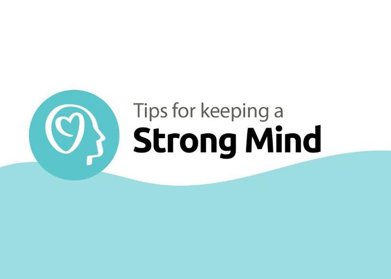Strong minds illustration
