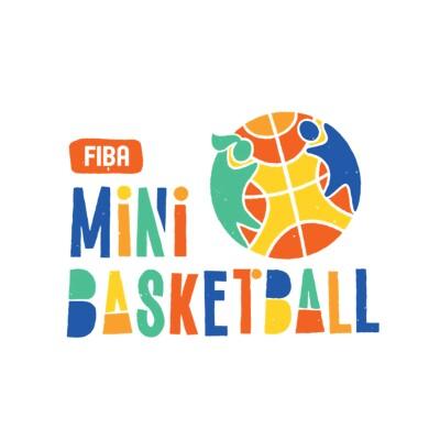 fiba mini basketball logo.