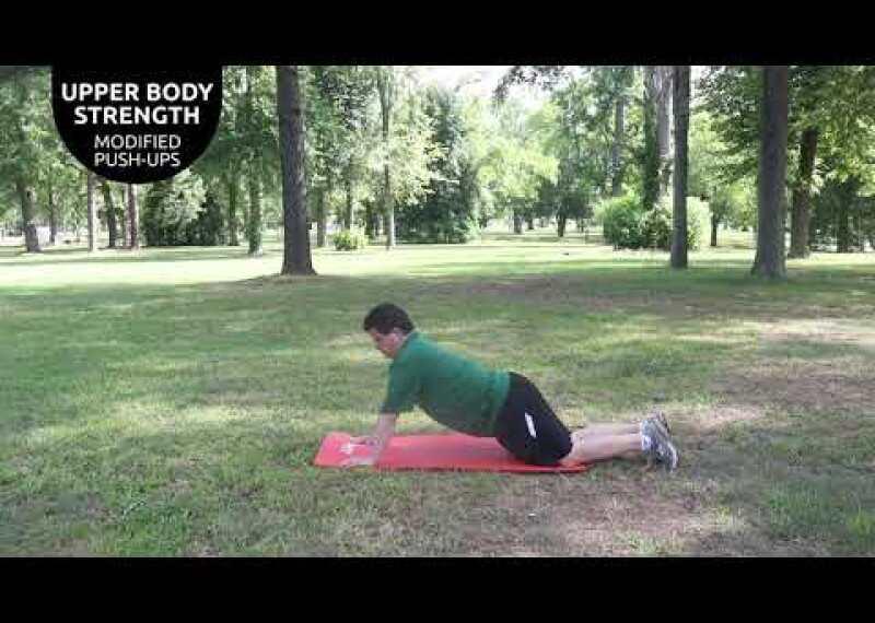 Upper Body Strength - Push-ups