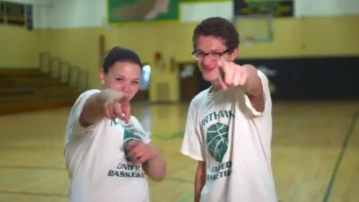 Unified Sports Jessie and Allie
