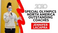 Congrats Jennifer LaCapra, 2020 Special Olympics North America Outstanding Coach!