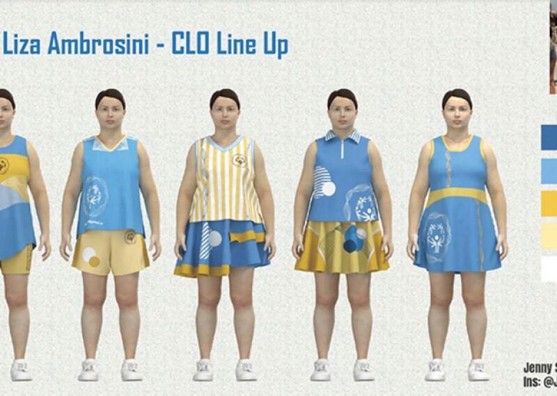 Illustration of 5 different uniform designs.