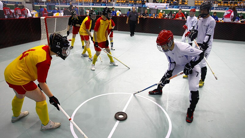 Floor Hockey Lead
