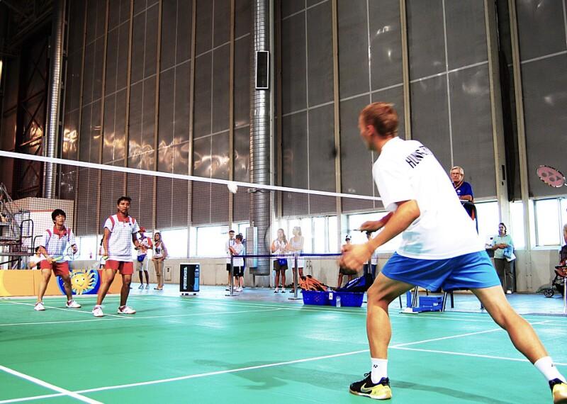 Badminton Banner