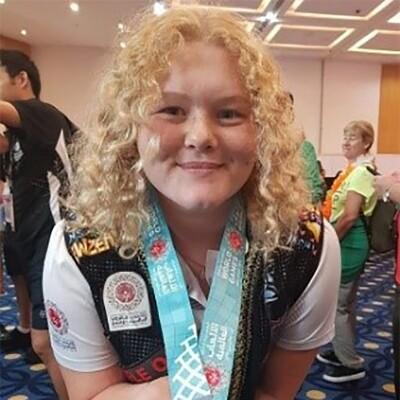Grace Payne - Olimpiadas Especiales Nueva Zelanda - Baloncesto, Levantamiento de Potencias