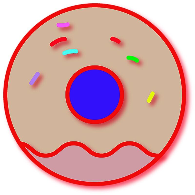 Doughnut illustration.