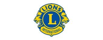 Lions Club International logo.