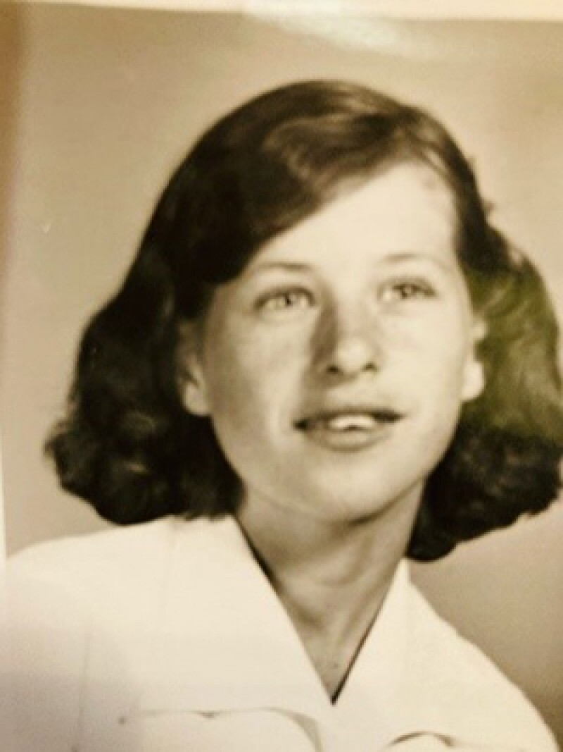 Betty Sue in her teen years.