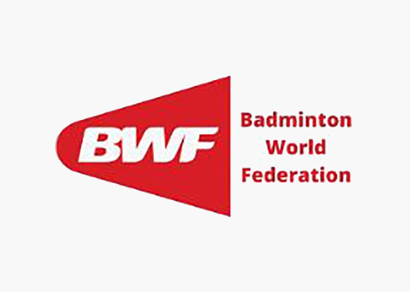 Red and White Badminton World Federation