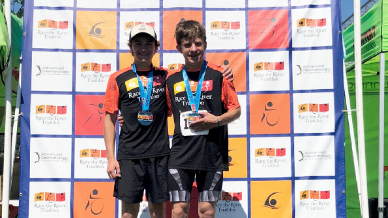 Jacob Baker and Jim Kinnard, Unified pair from Special Olympics Idaho