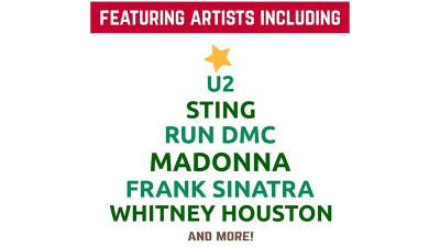 A Very Special Christmas - Featured Artist List