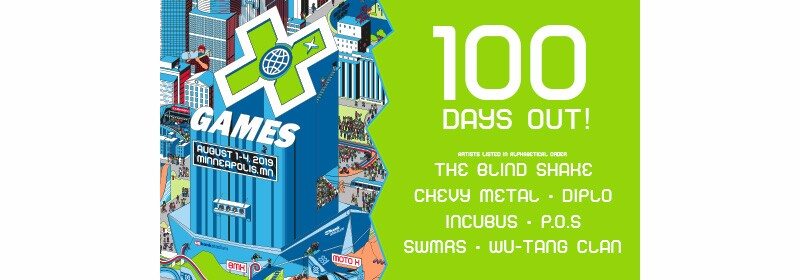 X-Games 100 days out image.