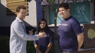 Max Carver visits Warren High School, a Unified Champion School