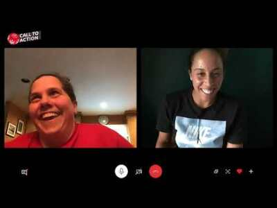 Tennis Star Madison Keys Surprises Special Olympics New York Athlete Liza Ambrosini