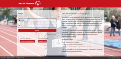 Image of the Smart Simple registration home page