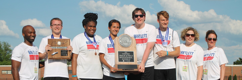 Bartlett High School TSSAA track award