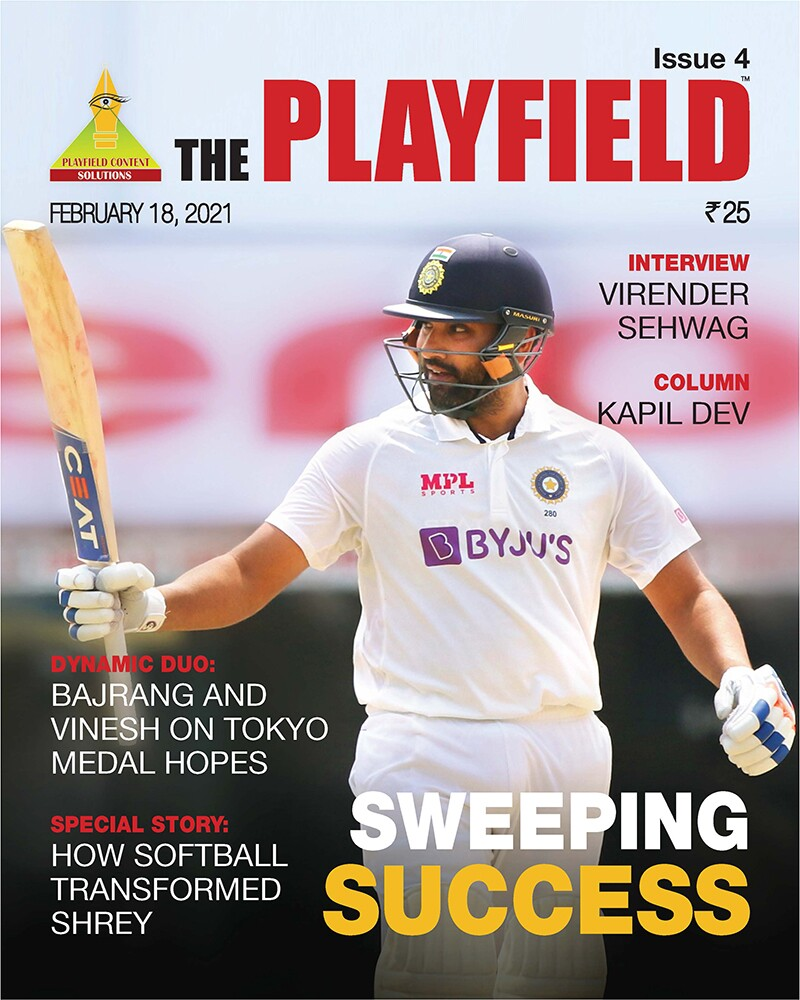 Cover image of the Playfield magazine, February 18, 2021 issue.