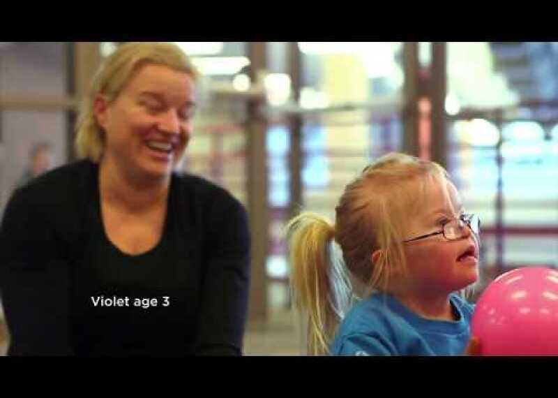 Karen and Violet