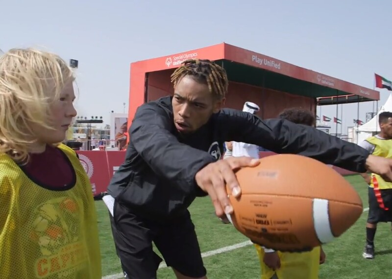 Pittsburgh Steelers' Joe Haden Finds Inspiration at World Games