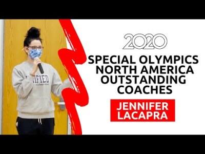 Congrats Jennifer LaCapra, 2020 Special Olympics North America Outstanding Coach!