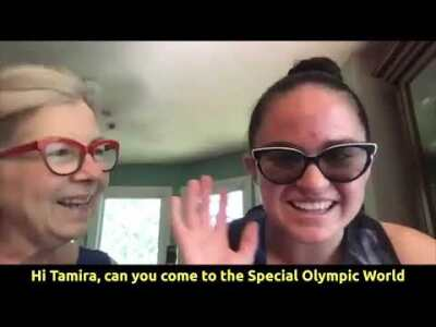 Click the video to see highlights from Tamira's talk with Special Olympics Maryland athletes.