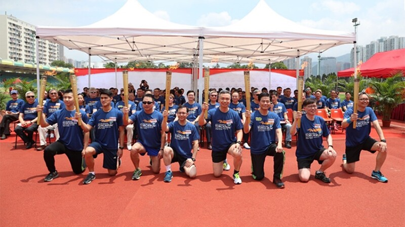Over 3,700 Disciplinary Officials Run for athletes with intellectual disability in.jpg