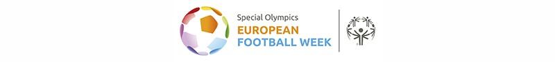 Special Olympics European Football Week logo.