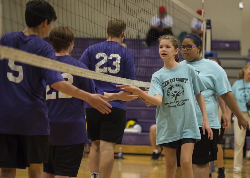 Volleyball Handshake
