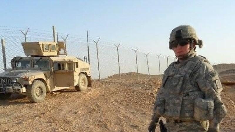 Monica Klock in Iraq