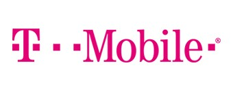 T-Mobile pink logo spelled out.