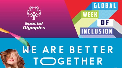 Image that reads: Global Week of Inclusion—We are Better Together, a girls face appears in the bottom left corner.