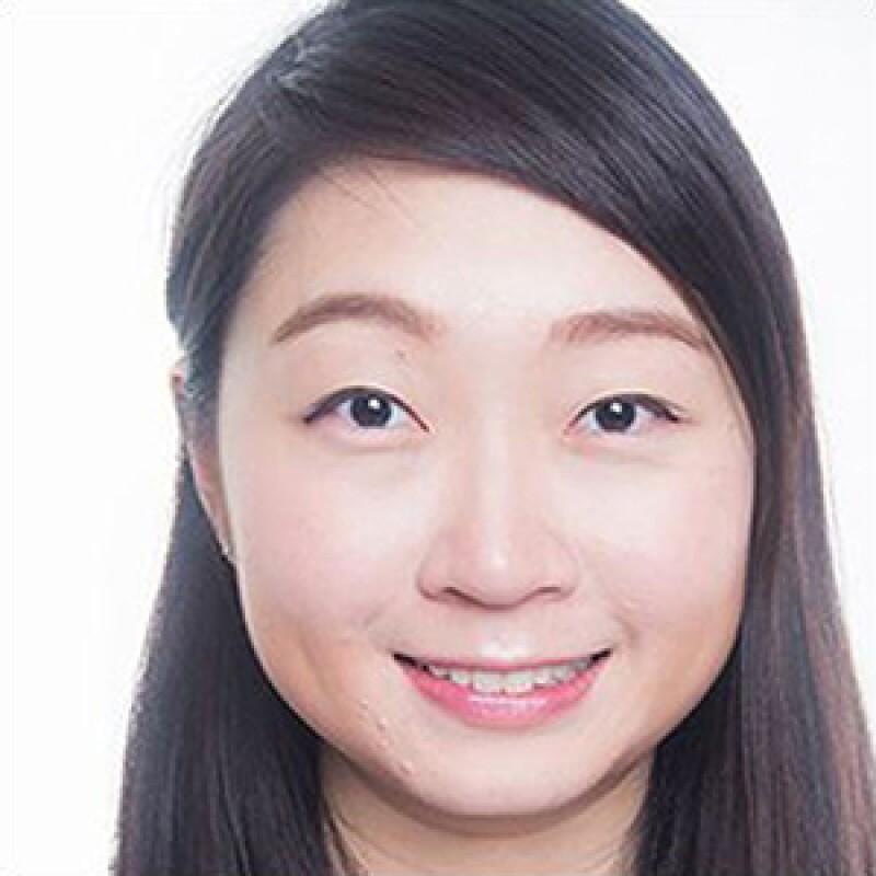Joyce Yu smiling.