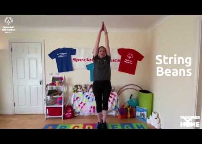 Practice your own Young Athletes Circuit with Coach Angie