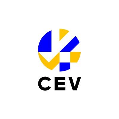 european volleyball confederation logo.