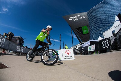 Unified BMX Race at the 2019 Games.