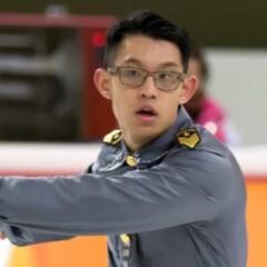Kurtis Siu ice skating.
