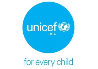 UNICEF USA Logo with text that reads: for every child