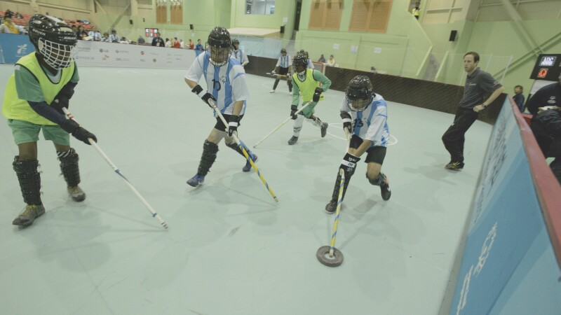 Floor Hockey Banner