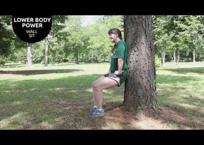 Lower Body Power - Wall Sit